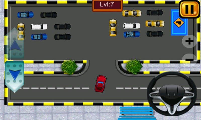 卡通车驾驶模拟器