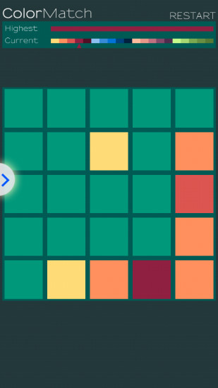 颜色组合2048