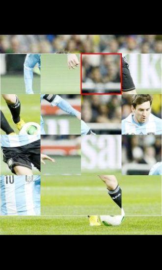 梅西阿根廷精彩拼图