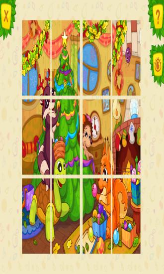 动物拼图儿童益智游戏