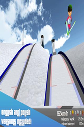 索契3D跳台滑雪