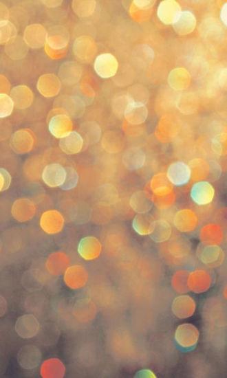 绚丽五光十色的光晕动态壁纸