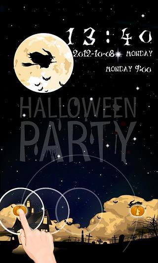 GO锁屏Halloweenparty主题