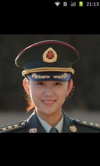 中国女兵最美