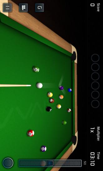 3D模拟桌球