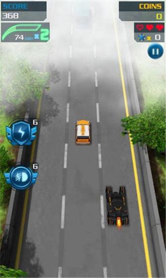3D疯狂飚车 賽車遊戲 App-愛順發玩APP