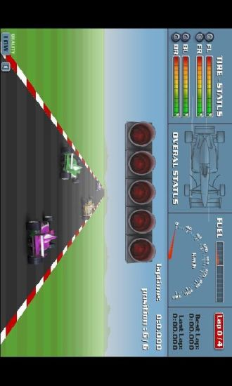 经典F1赛车