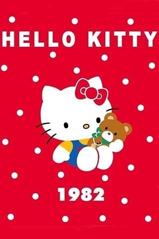 hello Kitty 高清壁纸 【女生必备】