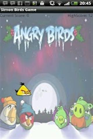 西蒙游戏愤怒的小鸟