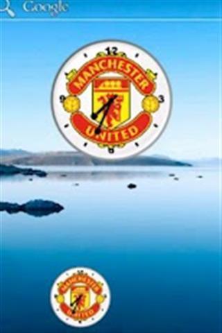 Manchester United Analog Clock