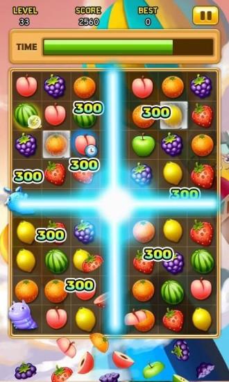 水果对对碰