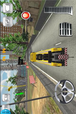 3D起重机械停车