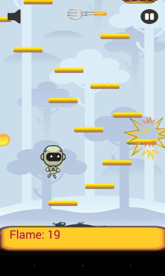 跳跃的小机器人