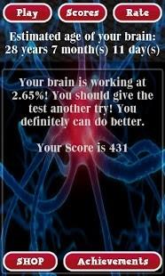 玩免費休閒APP|下載脑年龄测试 Brain Age Test Free app不用錢|硬是要APP