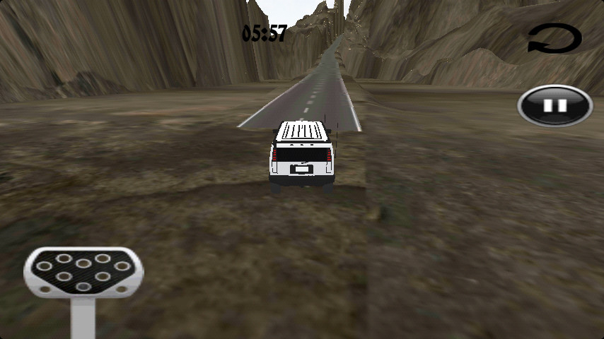 3D山坡越野车