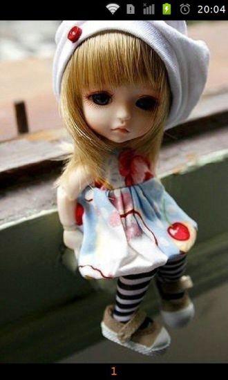 芭比娃娃可爱萌图