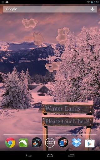 冬季雪动态壁纸