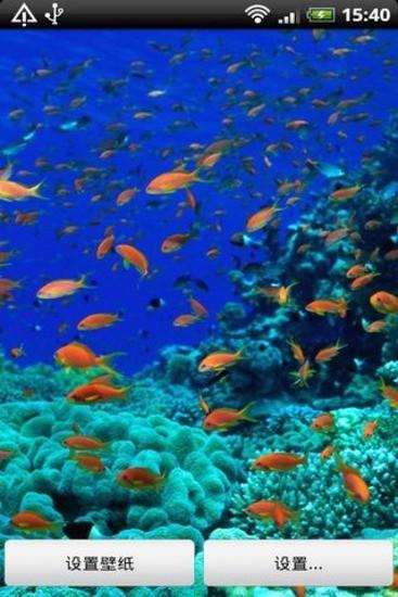 超美水族馆动态壁纸