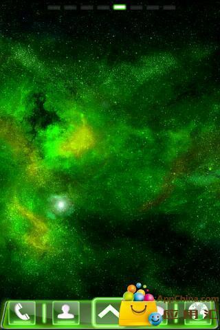 green Fusion GO桌面主题