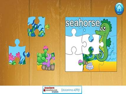 儿童海洋拼图