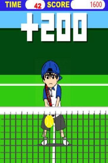 击球的男孩