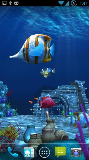 百资海洋寻宝3D动态壁纸