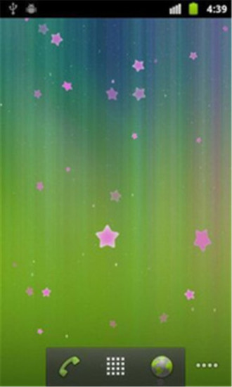 坠落的星星动态壁纸