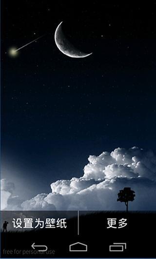有流星的夜晚二玩壁纸