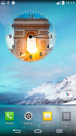 巴黎时钟插件