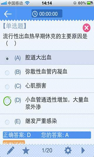 中医执业医师资格考试2014