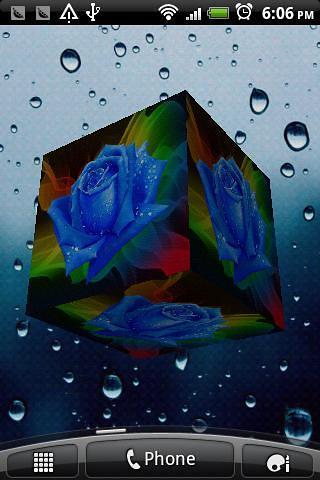玫瑰3D动态壁纸