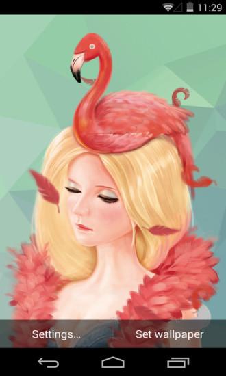 粉色回忆梦象动态壁纸