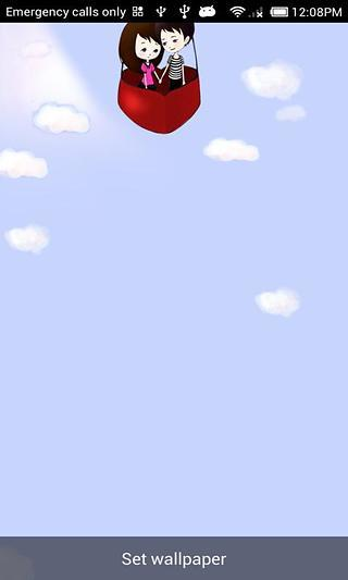 Lovers Balloon-MyShare LWP