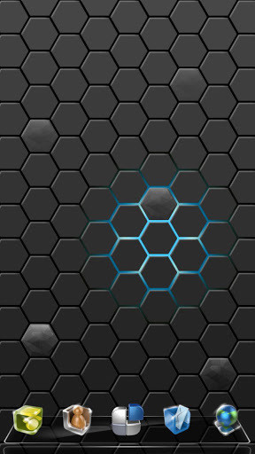 Next炫光蜂巢动态壁纸
