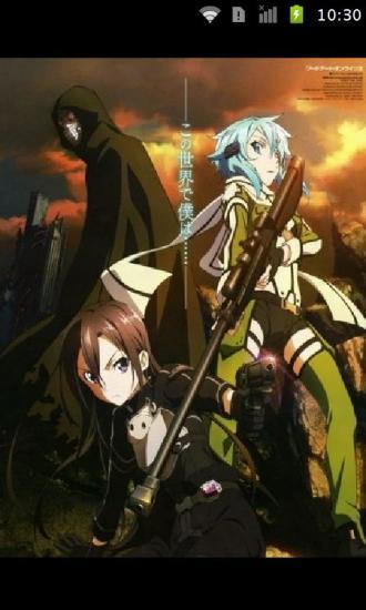 刀剑神域主题海报