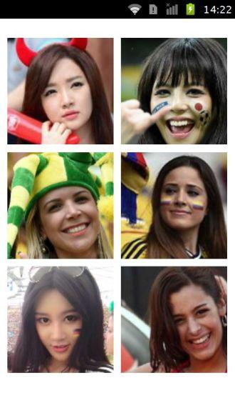 各国世界杯足球宝贝