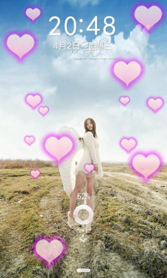 天使女生动态壁纸