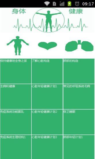 身体健康使用手册