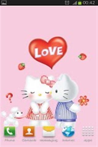 新年Hello Kitty动态壁纸