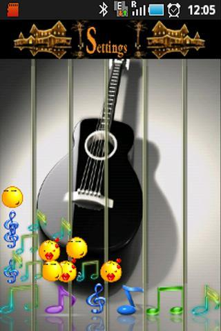 Guitar Touch Play On wallpaper