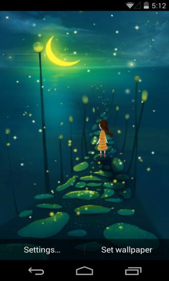 一个人的孤单之心月梦象动态壁纸