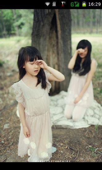 唯美可爱小孩壁纸图片