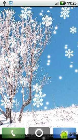 下雪了动态壁纸