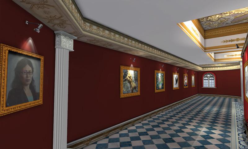 手机端3D个人展馆