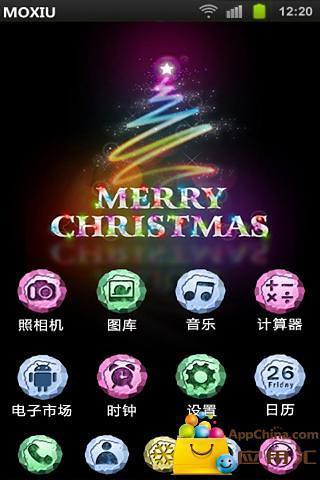 圣诞快乐桌面主题—魔秀