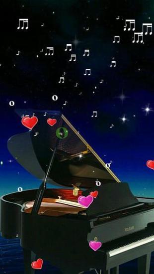钢琴-绿豆动态壁纸