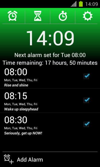鬧鐘app android - 硬是要APP - 硬是要學