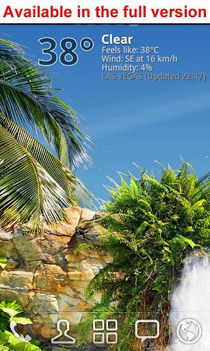 真实瀑布动态壁纸 True Weather Waterfalls