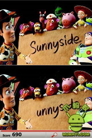 迪士尼找不同