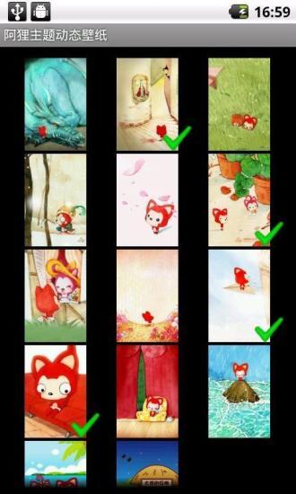 阿狸主题动态壁纸|玩攝影App免費|玩APPs